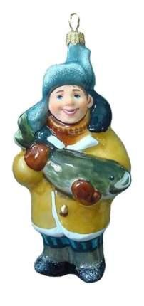 Елочная игрушка Ариель Рыбак 751 14 см 1 шт.