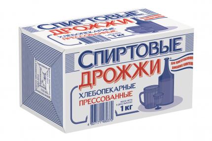 Дрожжи Саф-Нева Спиртовые прессованные хлебопекарные 1 кг