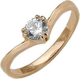Кольцо женское Платина 01-0503-00-501-1110-38 р.18.5