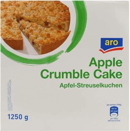 Пирог Aro Яблочный с посыпкой глубокозамороженный 1,25кг