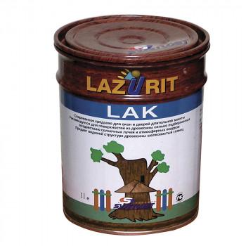 Пропитка Хромос Светлость Lazurit Lack 09 на основе алкидных смол палисандр 1л