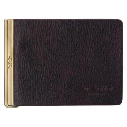 Зажим для денег мужской Dr.Koffer X510339-223 коричневый