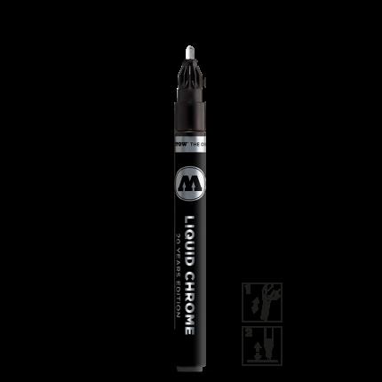 Маркер Molotow Liquid Chrome 2мм 703102 серебристый