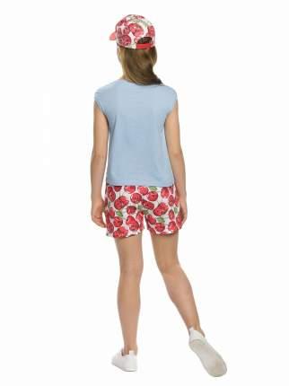 Комплект: футболка, шорты детский Pelican, цв. голубой, р-р 146