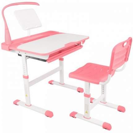 Парта детская Капризун со стулом Q8-pink