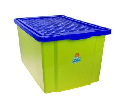 Ящик для игрушек Пластишка на колесах LA1019GR