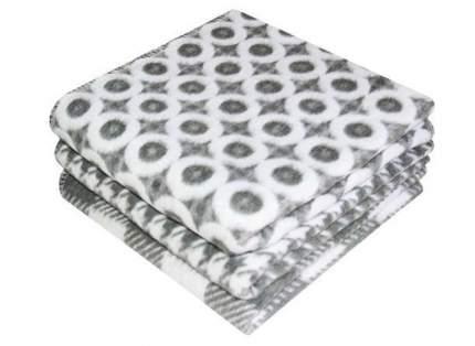 Одеяло Ермолино х/б байковое детское 140x100 серое 57-5ЕТОЖ