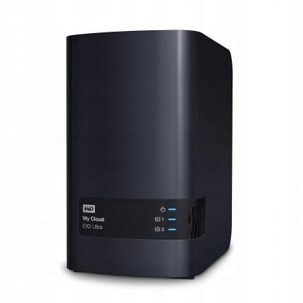 Сетевой накопитель (NAS) Western Digital My Cloud EX2 Ultra 28 TB (WDBVBZ0280JCH)