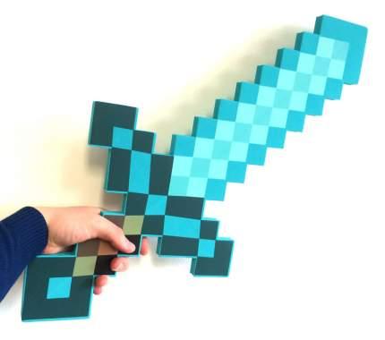 Алмазный меч (пенный наполнитель) из Майнкрафт Lele