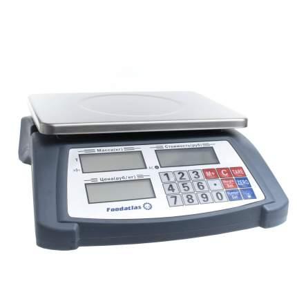 Торговые весы Foodatlas 15кг/1гр YZ-506