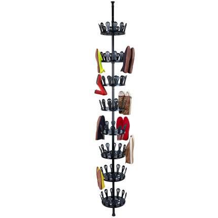Телескопическая стойка для обуви для 48 пар Tatkraft JO