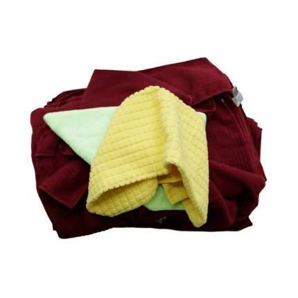 Набор микрофибр для нужд полировки, химчистки, стекла и пластика 1 кг AuTech Au-244