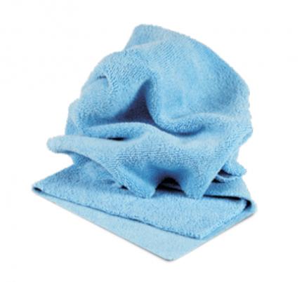 PROFI-MICROFASERTUCH BLAU Микрофибра салфетка 40*40 см, голубая, 400гр AuTech Au-241