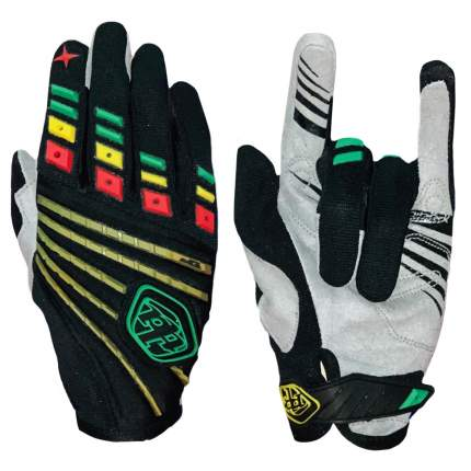 Байкерские перчатки Kamukamu с полосками 730410