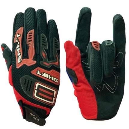Мотоперчатки Kamukamu черно-красные 730411