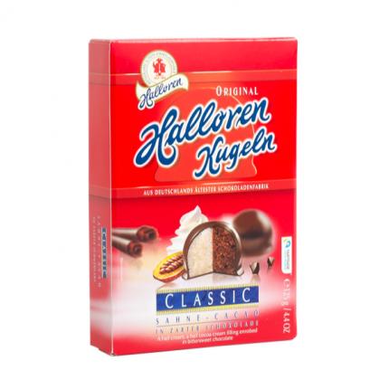 Конфеты Halloren Kugeln Крем Какао 125 г