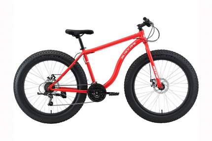"Велосипед Black One Monster 26 D 2021 20"" красный/белый"