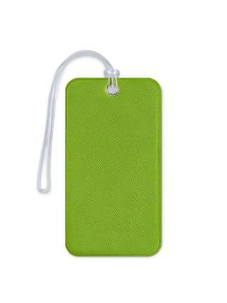 Бирка для багажа и сумок в самолет Flexpocket зеленая