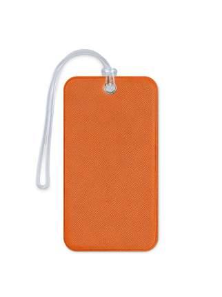 Бирка для багажа и сумок в самолет Flexpocket оранжевая