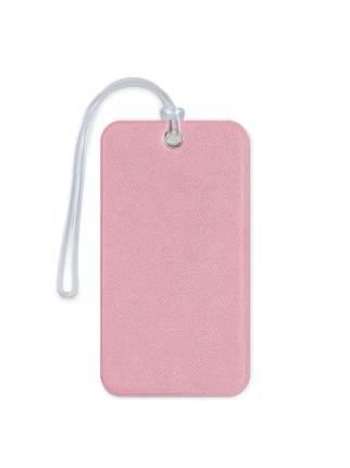 Бирка для багажа и сумок в самолет Flexpocket розовая
