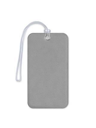 Бирка для багажа и сумок в самолет Flexpocket светло-серая