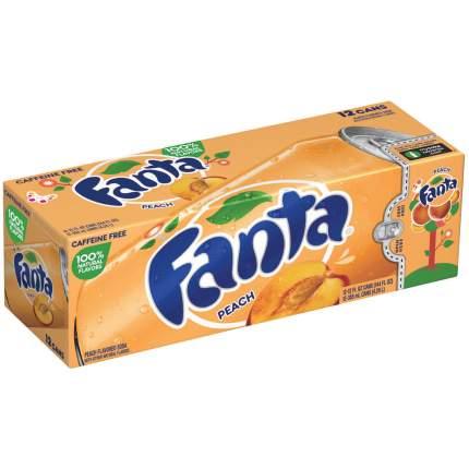 Газированный напиток Fanta  Peach 12шт по 0,355 л