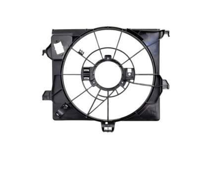 Передний диффузор для KIA SPORTAGE 5D 2010-, не окрашен