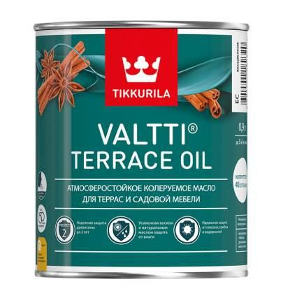 Масло для защиты террас и садовой мебели Tikkurila Valtti Terrace Oil колеруемое 0,9 л