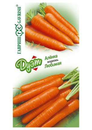 """Семена. Морковь """"Аленка+Любимая"""" (вес: 4 г)"""