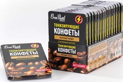 Конфеты Bon Pastil Energy черный кофе 12 г