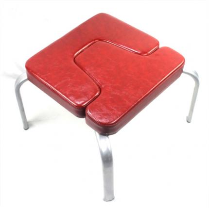 Йога стул для ширшасаны и фитнеса, красный