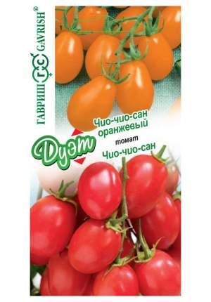 "Семена. Томат ""Чио-чио-сан + Чио-чио-сан оранжевый"" (вес: по 0,05 г)"
