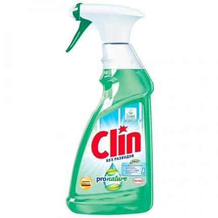 Средство для мытья окон и зеркал Clin Pro Nature 500мл