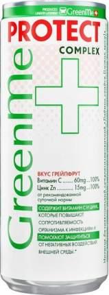 Напиток GreenMe Plus Protect Тонизирующий 330мл
