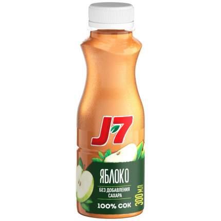 Сок J7 Яблоко осветленный 300мл