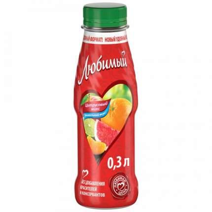 Напиток сокосодержащий Любимый Цитрусовый Микс 300мл