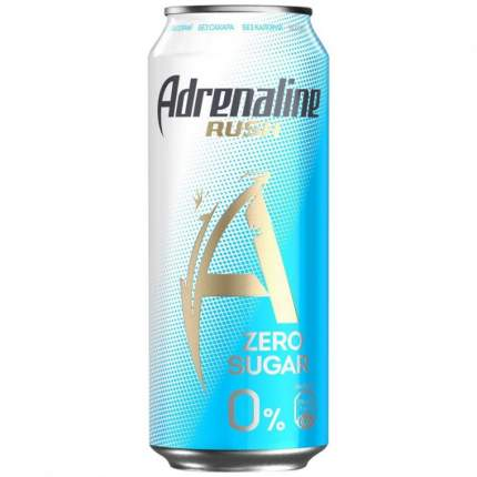 Напиток Adrenaline Rush энергетический без сахара 449мл