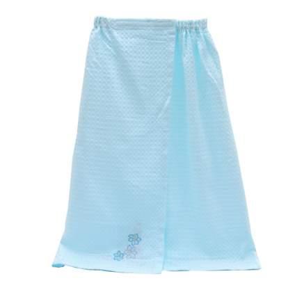 Накидка для сауны женская, голубой, арт. TT-45-CT-1001B