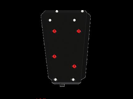 Защита бензобака Sheriff для Чери Тигго 4 2019-2020, модель №7, сталь 2мм, арт:28.4333-2