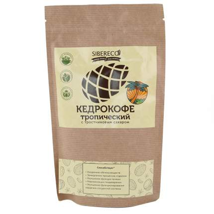 Кедрокофе Тропический с тростниковым сахаром SIBERECO, 90 гр
