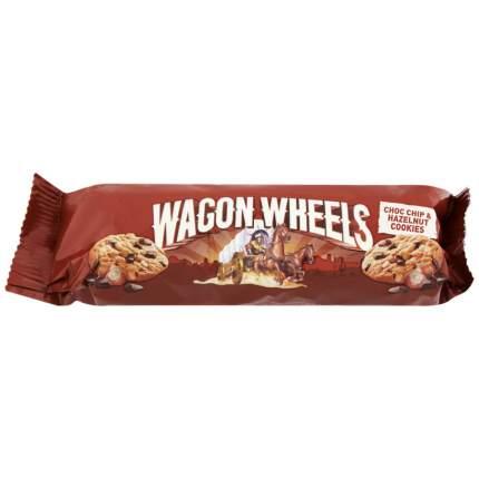 Печенье Wagon Wheels с фундуком и кусочками шоколада 136г