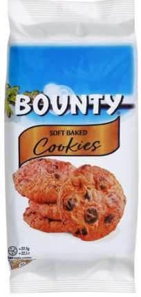 Печенье Bounty Мягкое с кусочками молочного шоколада и кокосом 180г