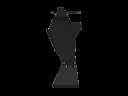 Защита КПП и РК Sheriff для Лада Нива Тревел 2020- , модель №3, сталь 2,5мм, арт:04.4203