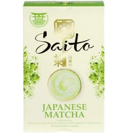 Чай зеленый Saito Japanese Matcha 10 пак