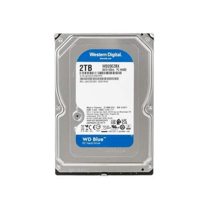 Внутренний жесткий диск Western Digital WD Blue 2TB (WD20EZBX)