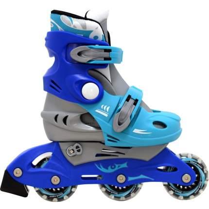 Роликовые коньки Black Aqua сине-голубые (26-29)