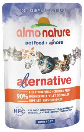 Влажный корм для кошек Almo Nature Adult Cat Adult, курица, 24шт, 55г