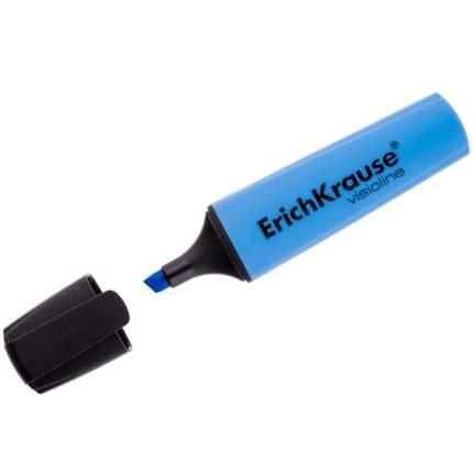 Текстмаркер ErichKrause Visioline V-12, цвет чернил голубой