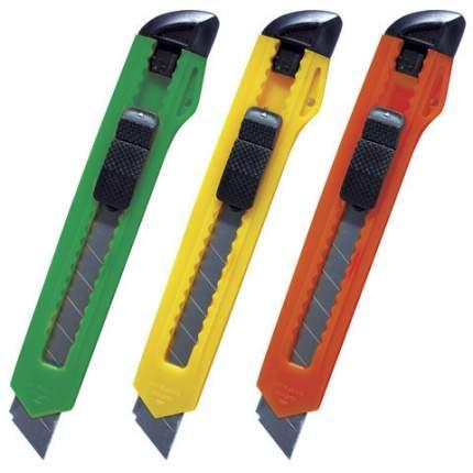 Нож канцелярский c механической фиксацией лезвия ErichKrause Standard, 18мм (в пакете по 1