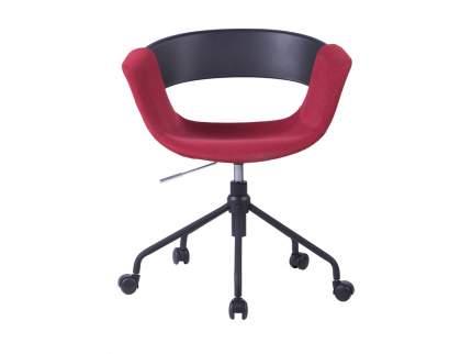 Офисный стул ОГОГО Обстановочка! Swing 7_09r_1, черный/серый/винный